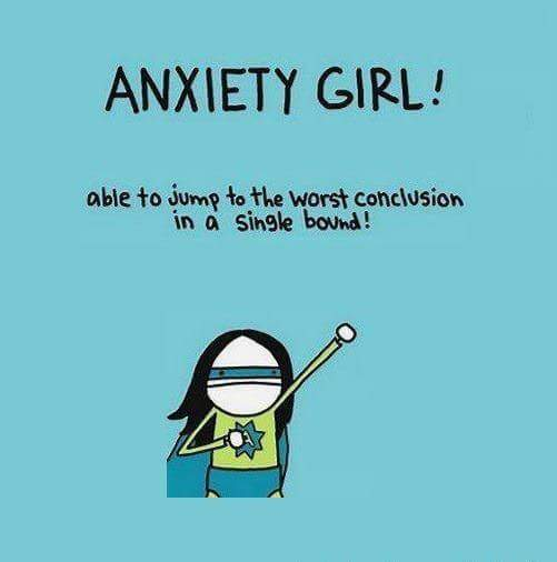 Anxiety Girl Meme
